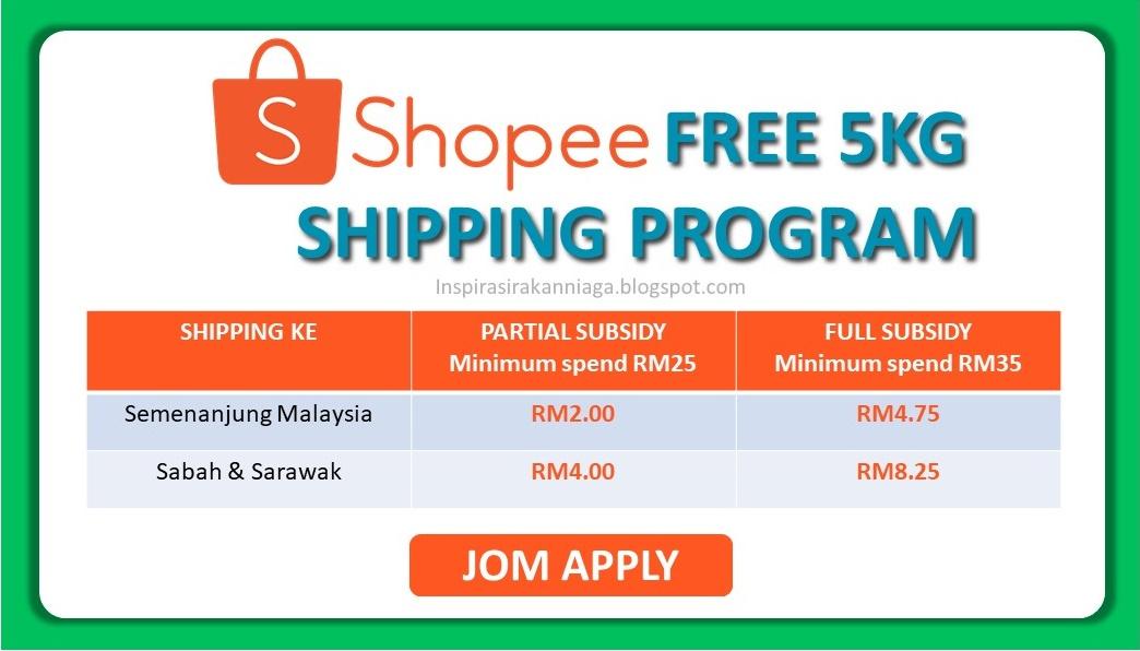 Shopee Free 5kg Shipping Program Part 1