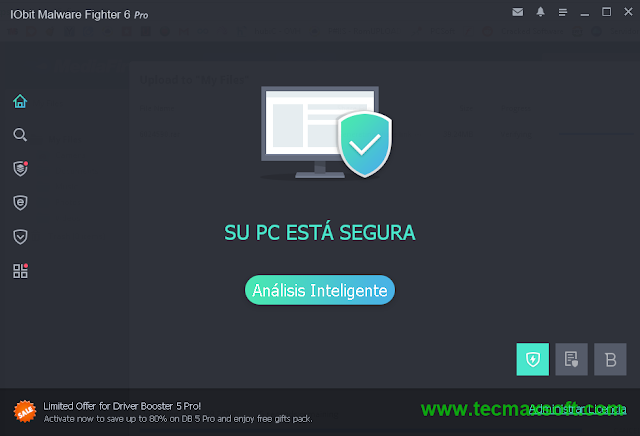 IObit Malware Fighter PRO Serial Full captura 3