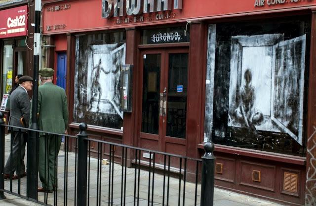 "Borondo ""Dia - Noche"" New Street Piece - East London (Part II) 11"