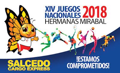 Inauguran  hoy los XIV Juegos Deportivos Nacionales en la provincia Hermanas Mirabal