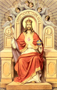 Wounded bird christ the king the feast of christ the king has come and gone but images of christ the king sitting on a throne wearing a golden crown and royal robes altavistaventures Gallery