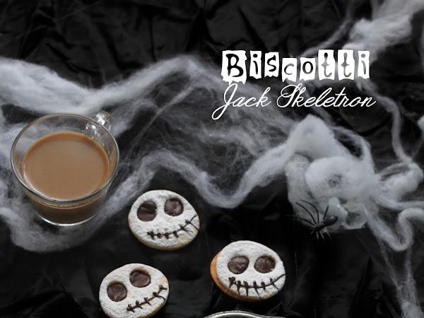 "Biscotti ""Jack Skeletron"" per Halloween"