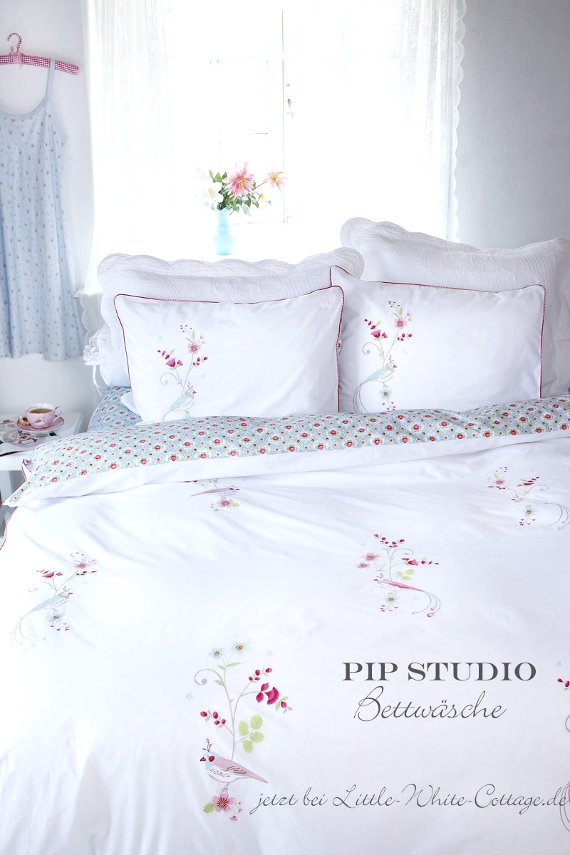 little white cottage sch nste romantische pip studio bettw sche. Black Bedroom Furniture Sets. Home Design Ideas