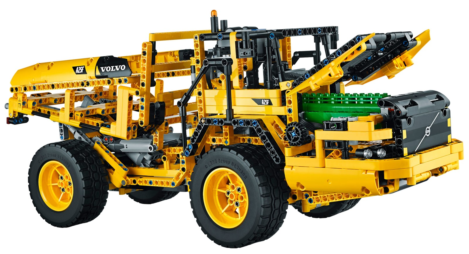 The Brickverse: Designing the Lego Technic Volvo L350F Wheel Loader