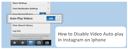How to Disable Video Auto-play in Instagram on Iphone