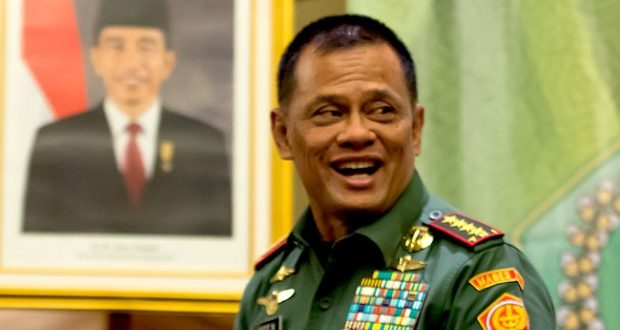 "Panglima TNI: ""Bayangkan, kalau nanti 2019 bukan Jokowi, presidennya mengatakan infrastruktur. Apa itu. Hapus? Apa jadinya bangsa ini"""