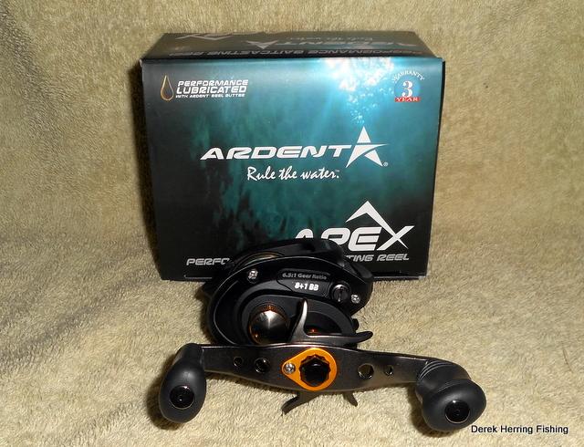 Derek Herring Fishing: Ardent Apex Tournament Reel Review