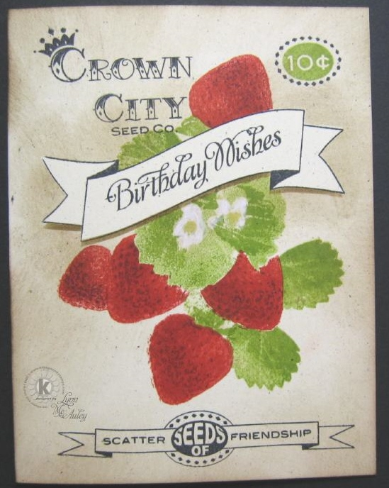 Confessions Of A Left Brained Stamper KSS 10 Minute Card