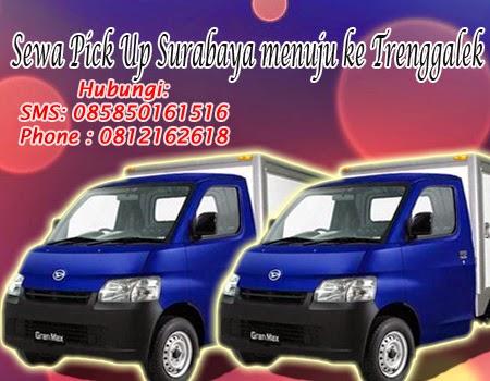 Sewa Pick up Surabaya menuju Trenggalek
