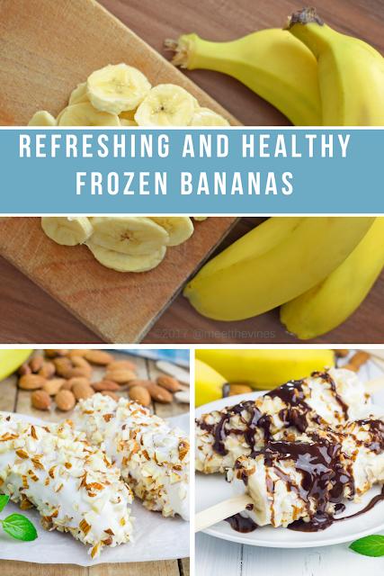 banana, frozen banana, popsicle