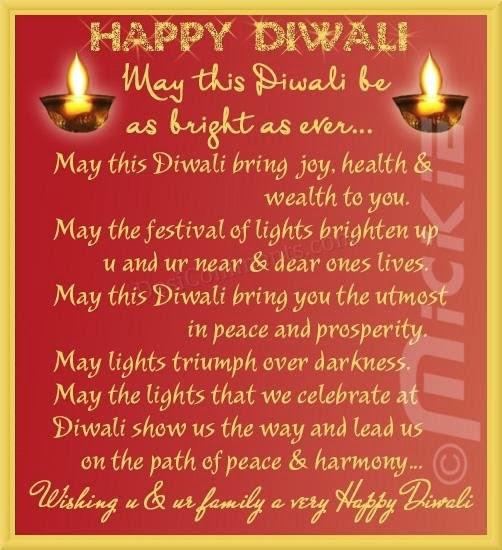 Diwali poems in English