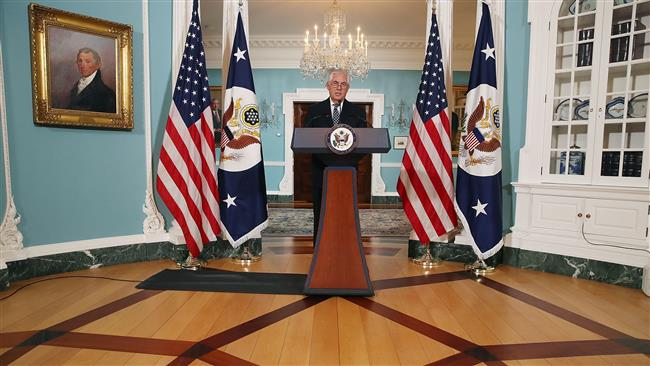 US Secretary of State Rex Tillerson says Russia's support for East Ukraine 'obstacle' in Washington-Moscow ties