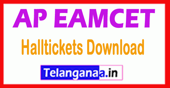 AP EAMCET Exam Notification Time Table Hall tickets Results