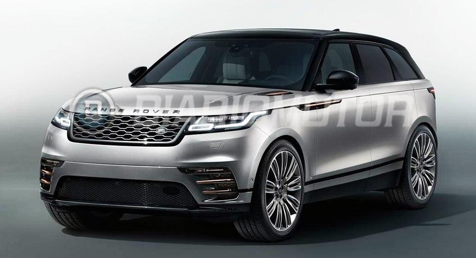 The Range Rover Velar