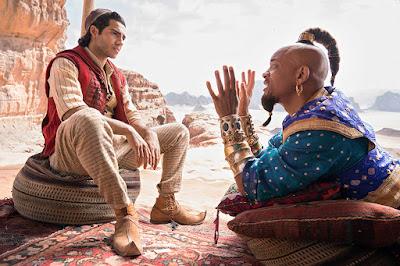 Aladdin live-action 2019 Mena Massoud e Will Smith