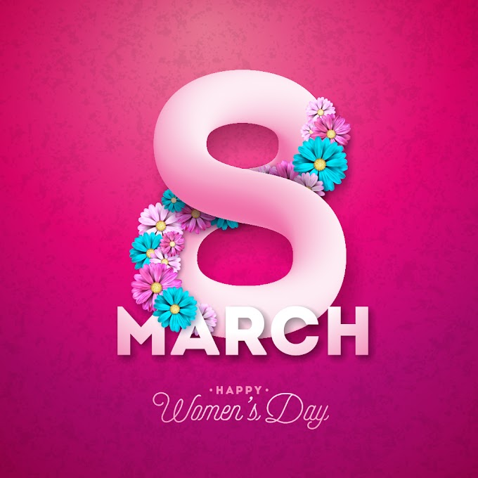 women's day vector Creative 8 march womens day festival design free vector