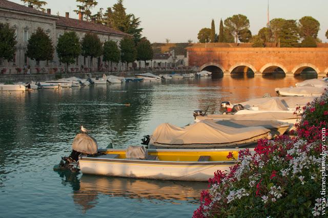 Lugares encanto Italia Peschiera di Garda verano norte Italia