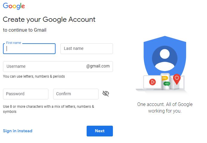 How To Create Gmail Account in 2019 - The Common Topic
