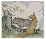 Dongeng Babi Hutan dan Rubah (Aesop) | DONGENG ANAK DUNIA