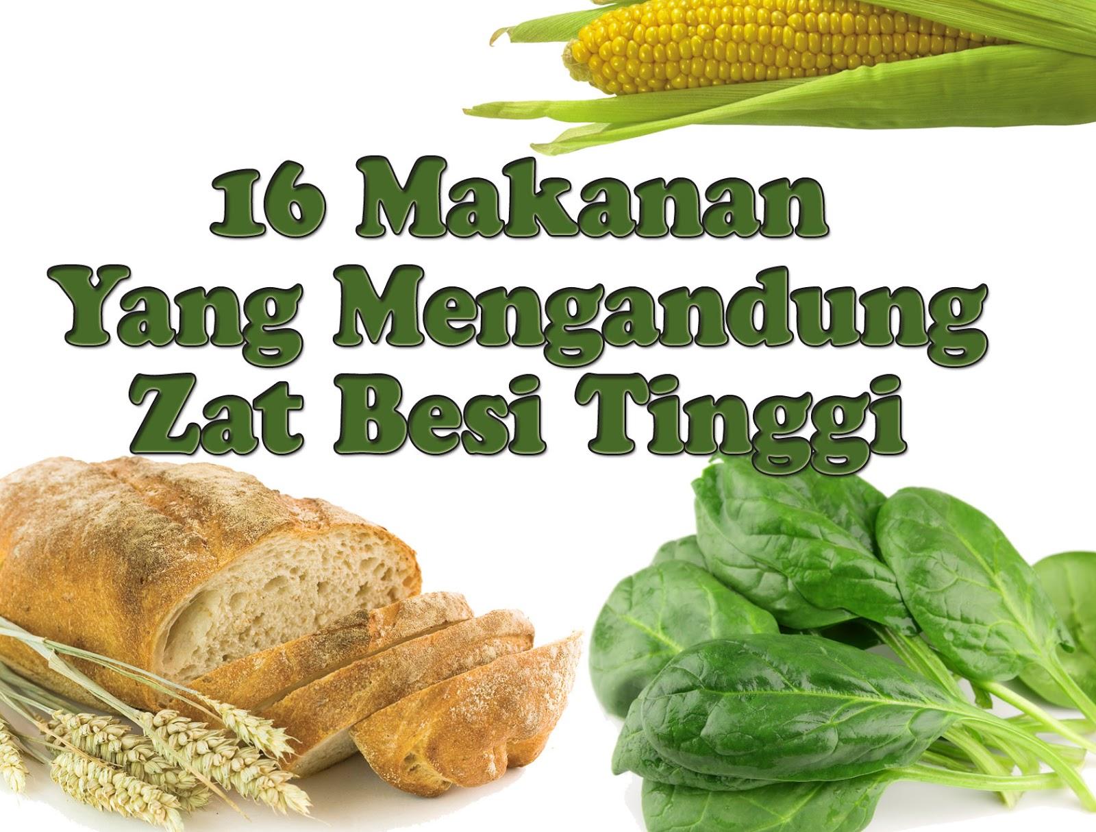 16 Makanan Yang Mengandung Zat Besi Tinggi Dan Manfaat Untuk Tubuh