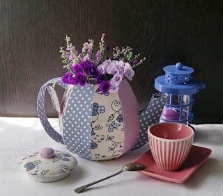 чайник шкатулка, текстильный чайник, чайный домик, чайник ручной работы