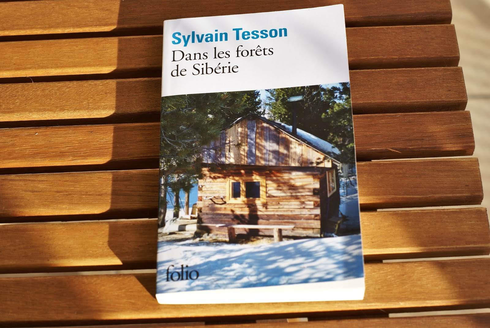dans les forets de sibérie sylvain tesson livre