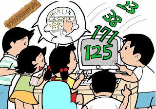 برنامج anzan الياباني لاختبار الحساب السريع