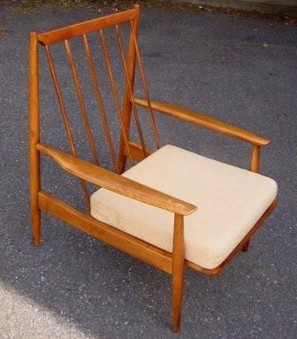 Nicole Wood Interiors Sold Mid Century Wood Lounge