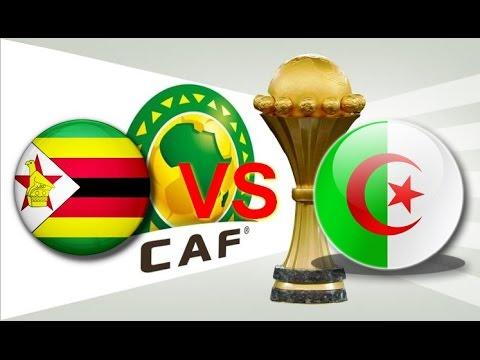 موعد مباراة الجزائر وزيمبابوي اليوم 15/1/2017 والقنوات الناقلة