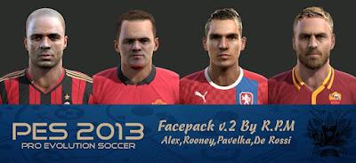Facepack 2016 v.2 Pes 2013 By R.P.M
