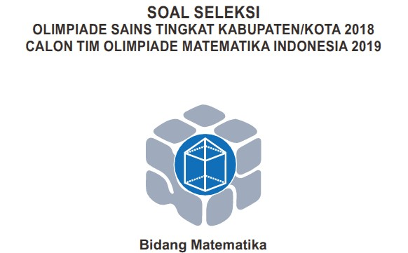 Soal OSK Matematika 2018