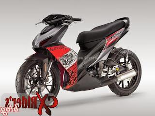 Gambar Modifikasi Motor Revo Terbaru