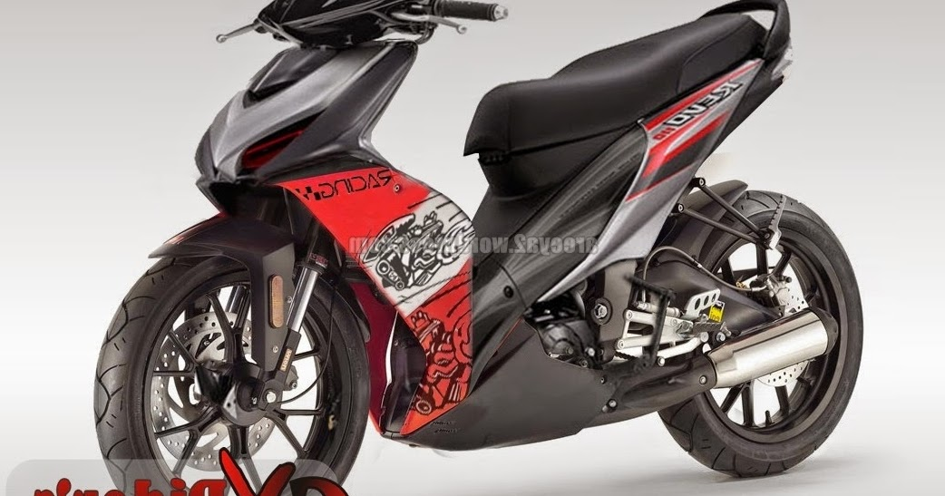 50 Gambar Modifikasi Motor Honda Revo Fi Terbaru Gambar Mobil Dan Motor