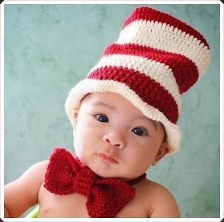 Tığ işi Örgü Bebek Bere Örnekleri 7