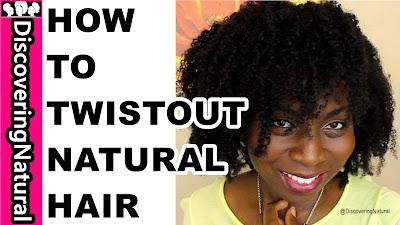 HOW TO TWISTOUT NATURAL HAIR | BIG HAIR | DiscoveringNatural