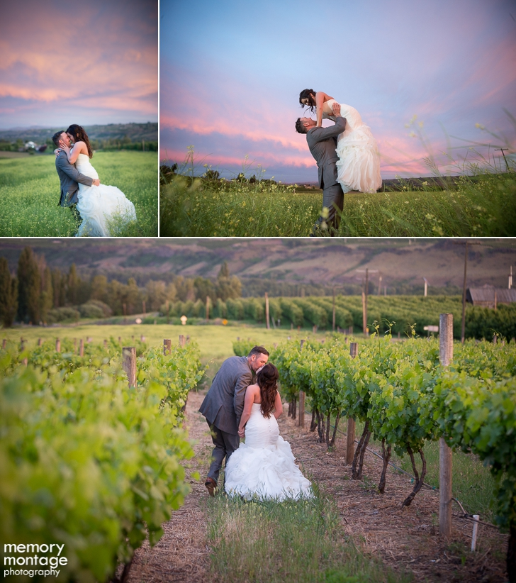 Naches Wedding at Fontaine Estates Billie and Justin Olson gold blush wedding