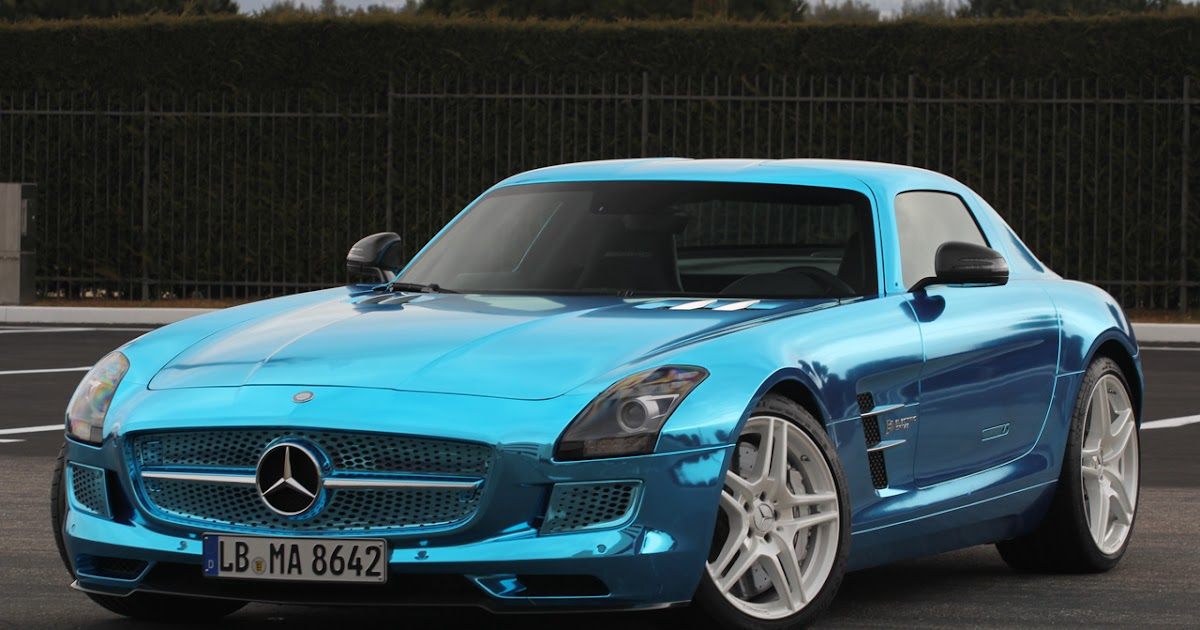 World Of Auto Enthusiasts Mercedes Benz Sls Amg Electric