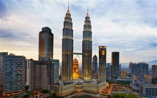 Tallest building Petronas Tower