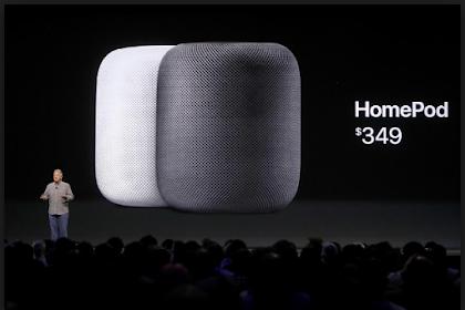 Apple menunda perilisan speaker pintar HomePod hingga 2018