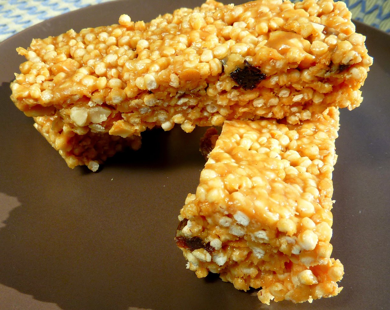 barritas energeticas de quinoa