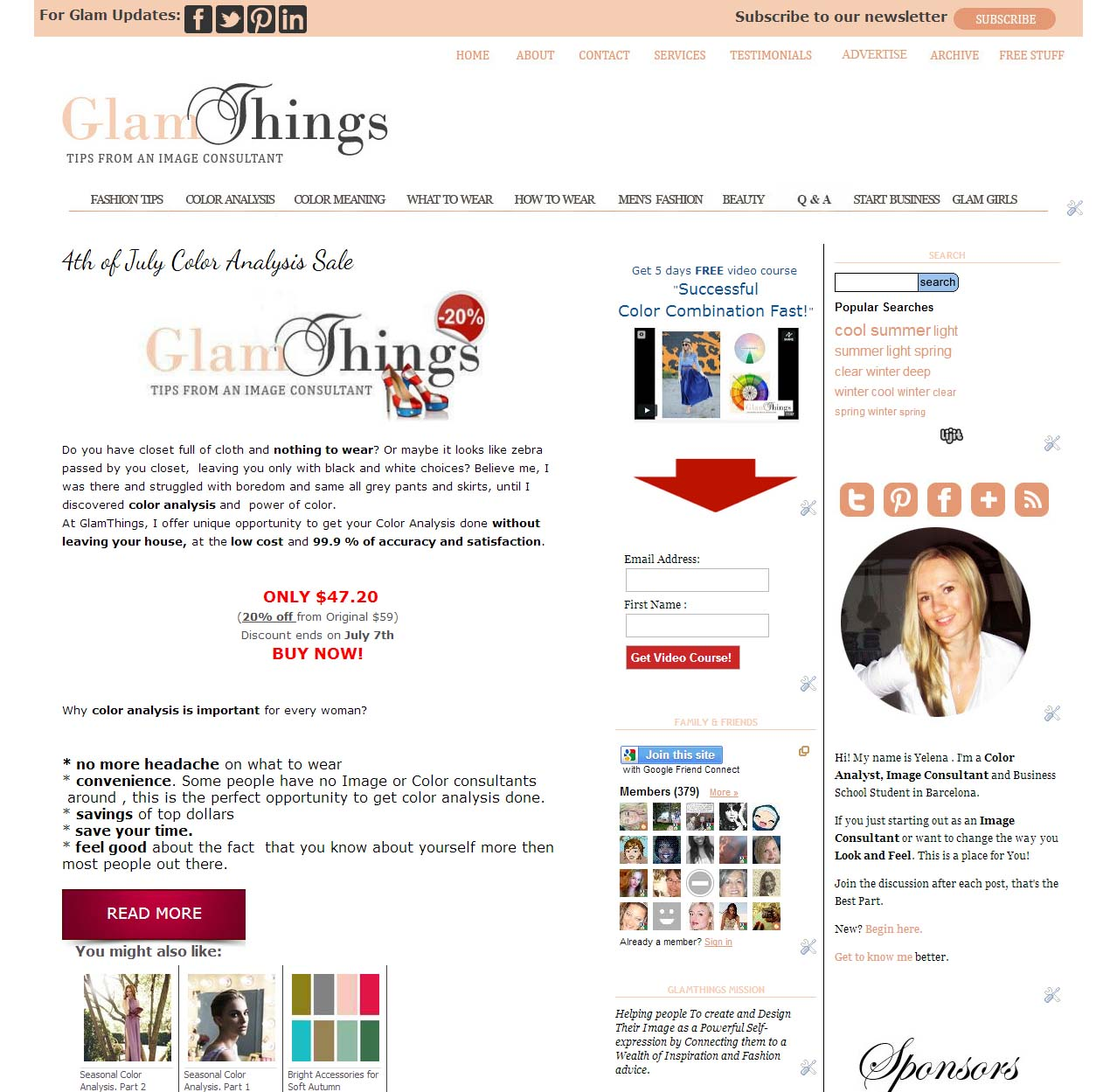 Glam Things Web Development on Blogger