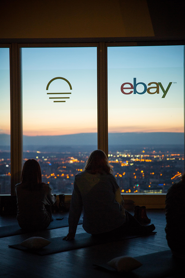 Ebay SoundRise primera health party de Madrid