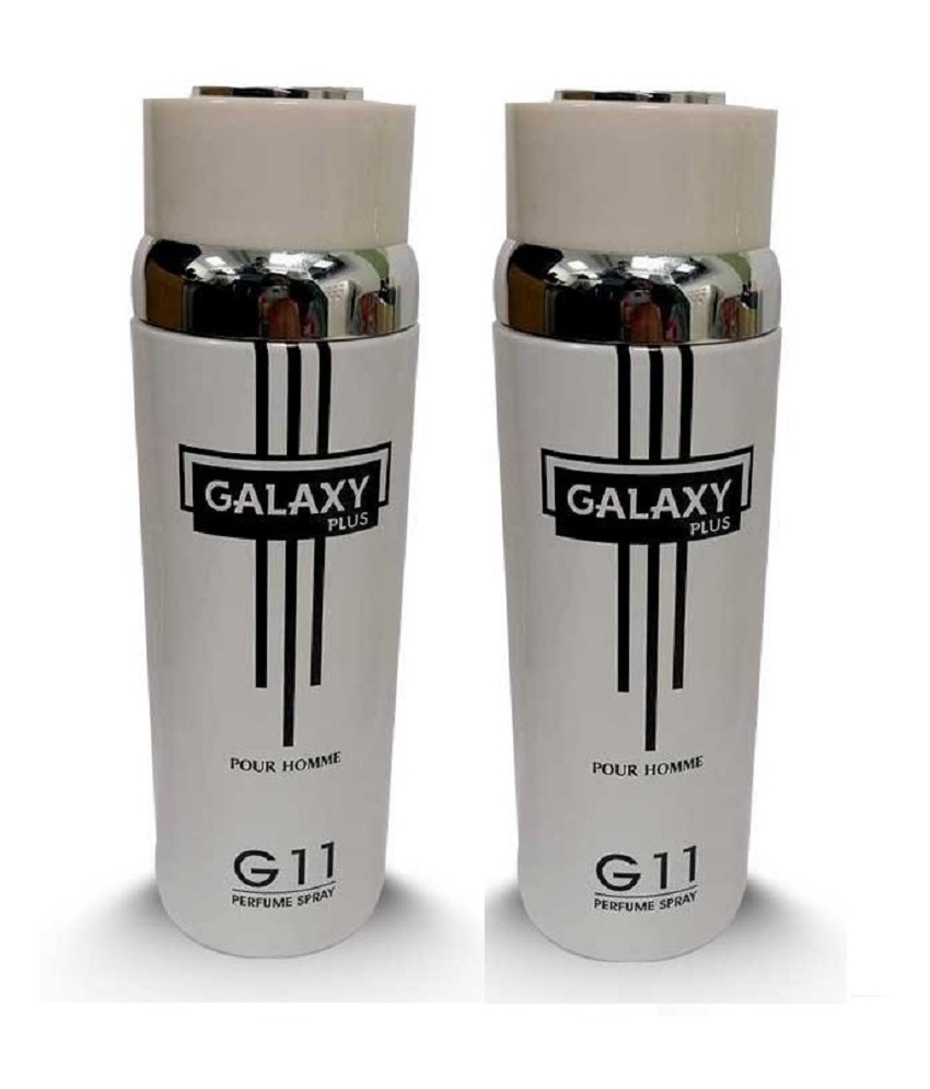 Pack Of 2 - Galaxy Plus G 11 Pour Homme Body Spray 200 ml Each
