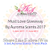 """MUST LOVE GIVEAWAY BY AUROMA SCENTS"""