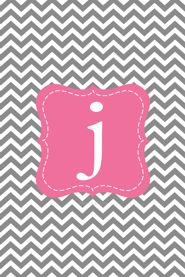 chevron initials wallpaper with o - photo #1