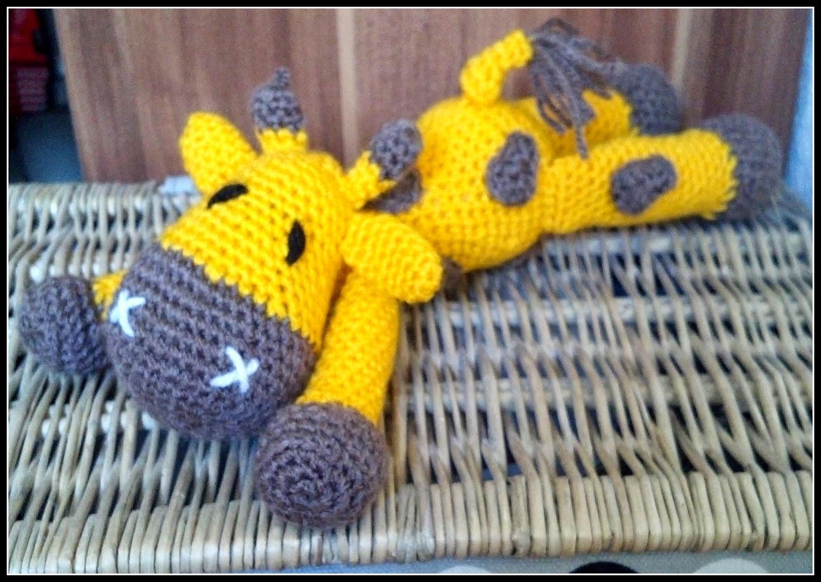 Fannysbuntewelt Häkel Giraffe