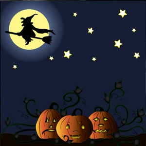 Happy Halloween Fullmoon Images for Facebook and Whatsapp