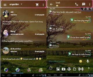 BBM Mod Neon Trans Apk