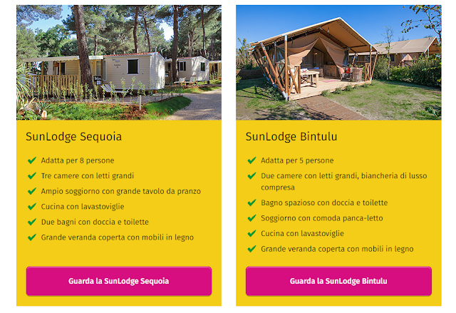 Novità: SunLodge Sequoia e SunLodge Bintulu