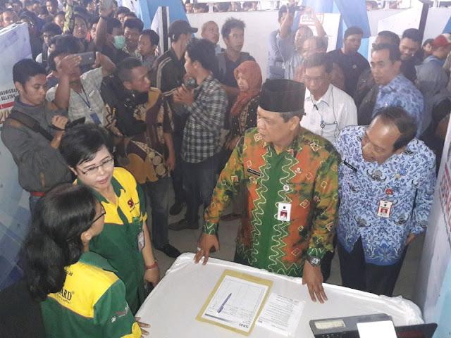Kalsel Job Fair 2017 Resmi Dibuka Gubernur Kalsel